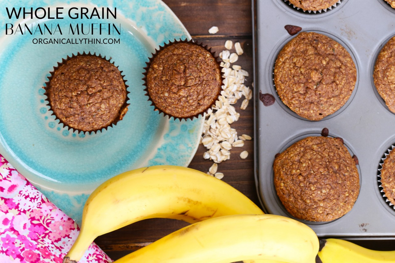 Whole Grain Banana Muffin