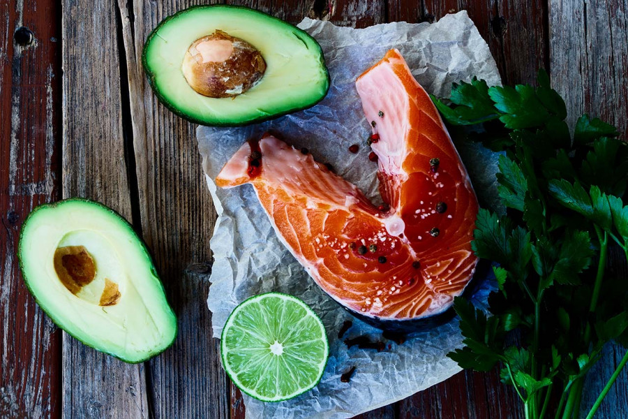 Organically Thin Avocado Salmon